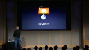 Steeve Jobs à la keynote Apple